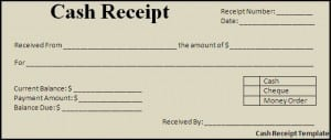 Top 5 Free Cash Receipt Templates - Word Templates, Excel Templates
