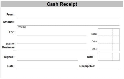 Top 5 Free Cash Receipt Templates Word Templates Excel Templates – Reciept Templates