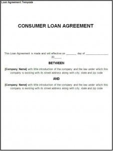 top 5 free loan agreement templates word templates excel templates business agreement sample letter