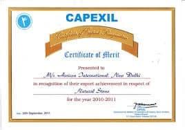 Word Merit Certificate