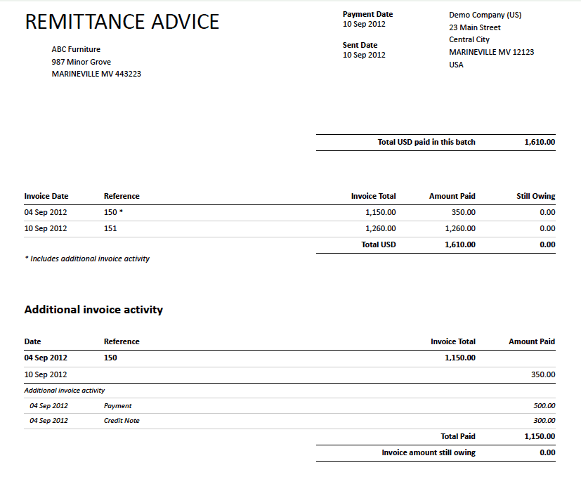Top 5 Free Remittance Templates Word Templates Excel Templates – Free Remittance Advice Template