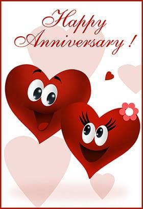 anniversary card template 2641