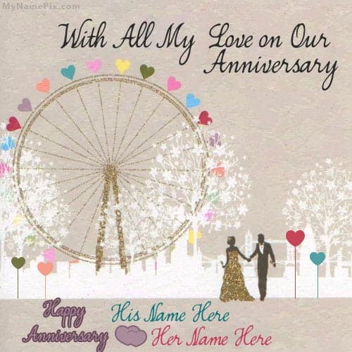 anniversary card template 48741
