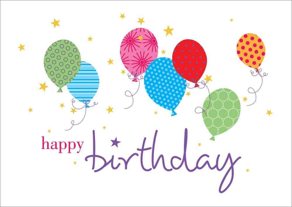Top 5 Free Birthday Card Templates Word Templates Excel Templates – Happy Birthday Cards Templates