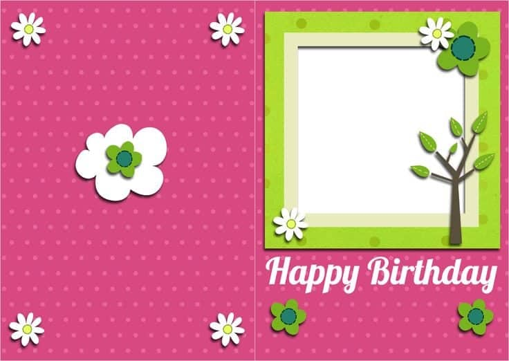 Top 5 Free Birthday Card Templates Word Templates Excel Templates – Word Birthday Card Template