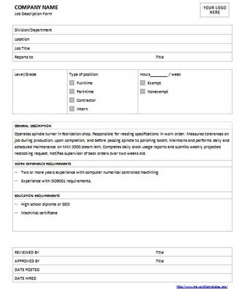 Job Description Template U2013 University Of Waterloo Writing The Dispatcher  Resume Template When Delivery Vehicles Take The Right Routes, They Lower  Operating ...  Dispatcher Job Description