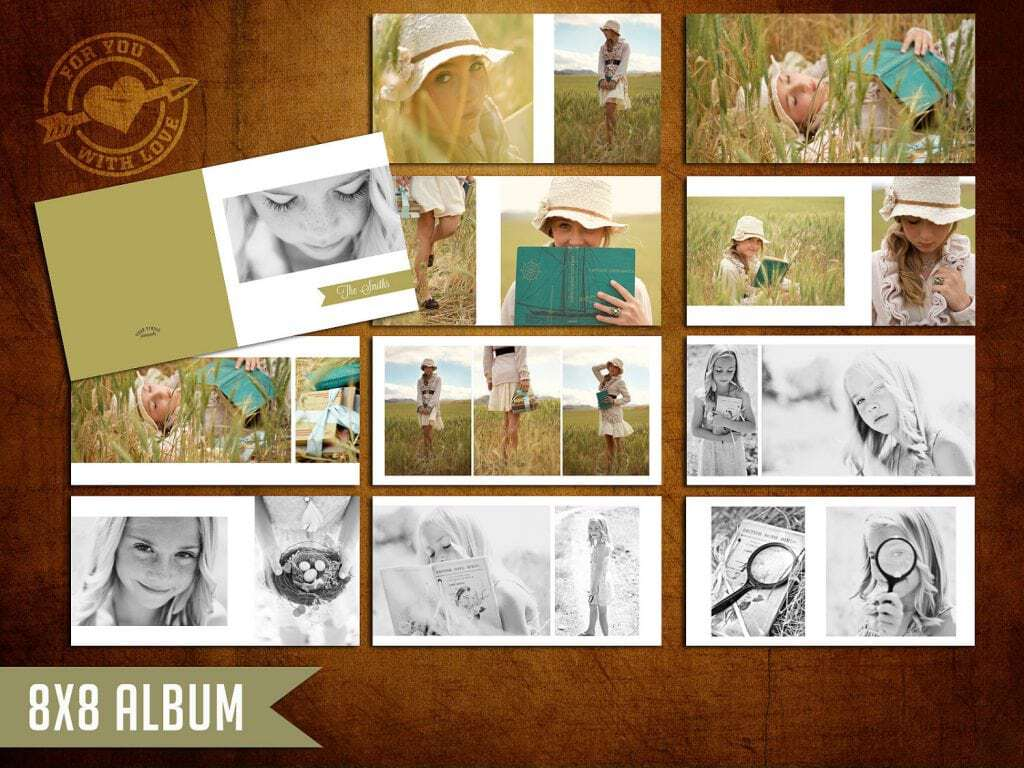 album photo template