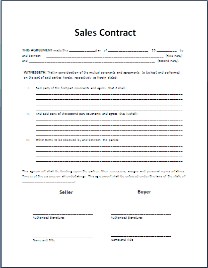 top 5 resources to get free sales contract templates word templates excel templates