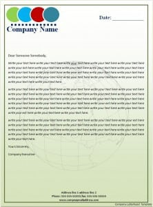 Top 5 Resources To Get Free Company Letterhead Templates - Word ...