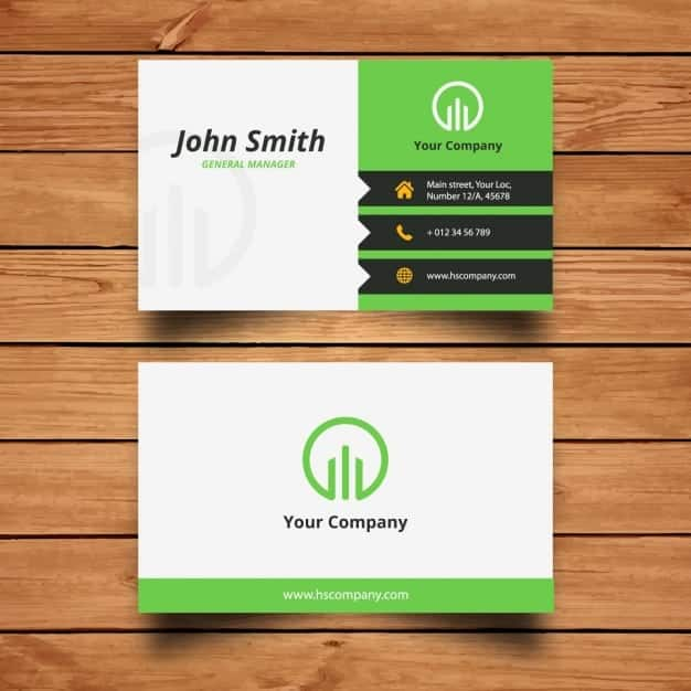 Top 5 Resources To Get Name Card Templates - Word Templates, Excel ...
