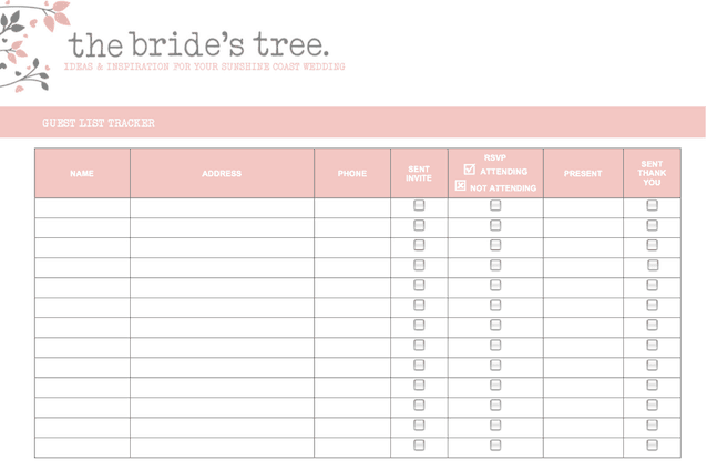 top 3 resources to get wedding invitation list templates - word, Invitation templates