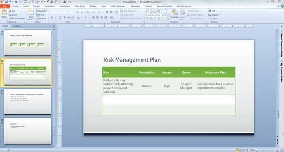 Doc1142680 Project Risk Management Template Doc1142680 – Risk Management Template Free