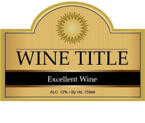 top 5 resources to get free wine label templates word templates excel templates. Black Bedroom Furniture Sets. Home Design Ideas