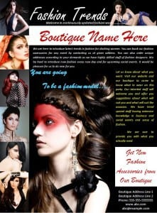 Fashion Poster Template