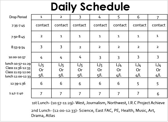daily schedule template 59741