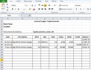 general ledger template 264