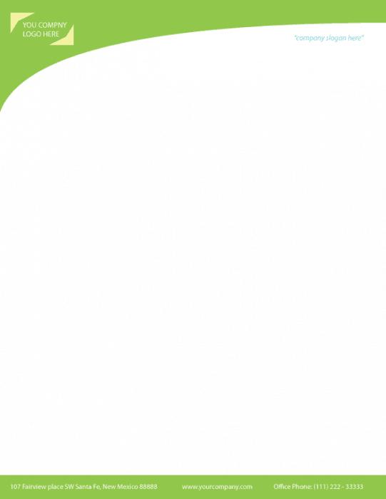 letterhead template 4971