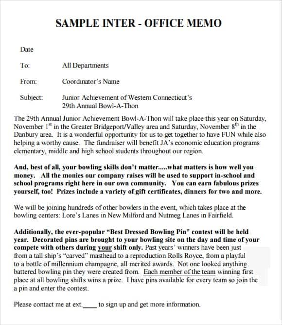 interoffice memo template 4514