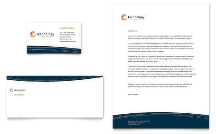 company letterhead template 34455