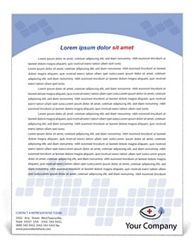 company letterhead template 4574