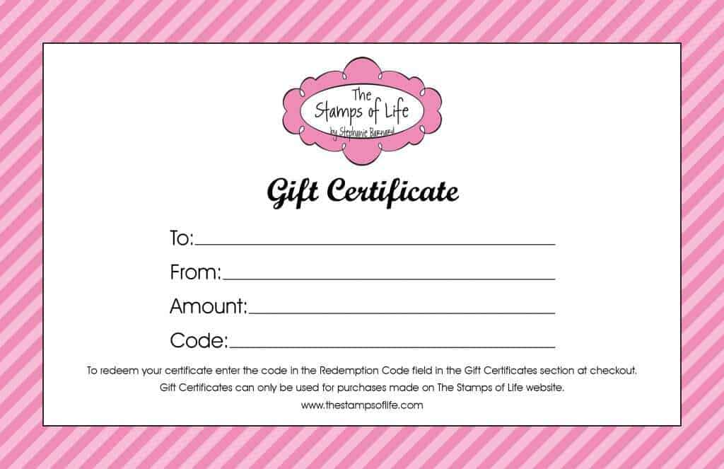 gift certificaet template 5214
