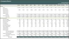 income statement template 1412