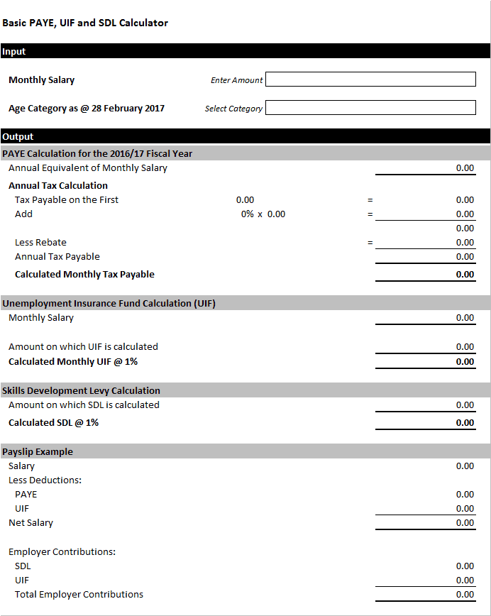 Top 20 Formats Of Salary Slip Templates - Word Templates, Excel