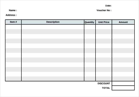 14  free payment voucher templates